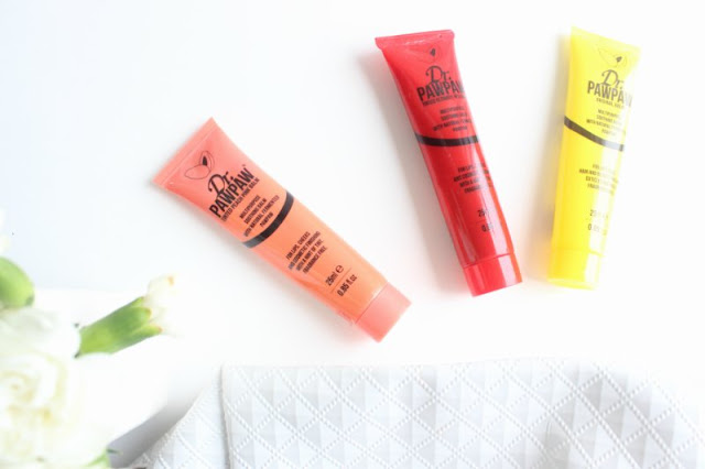Dr. Pawpaw Multi-Purpose Balms Review Swatches