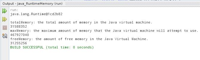 Java-Buddy: Get runtime memory with Java code