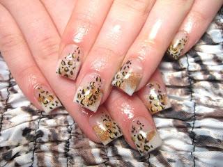 Leopard Print Nail Art 2011