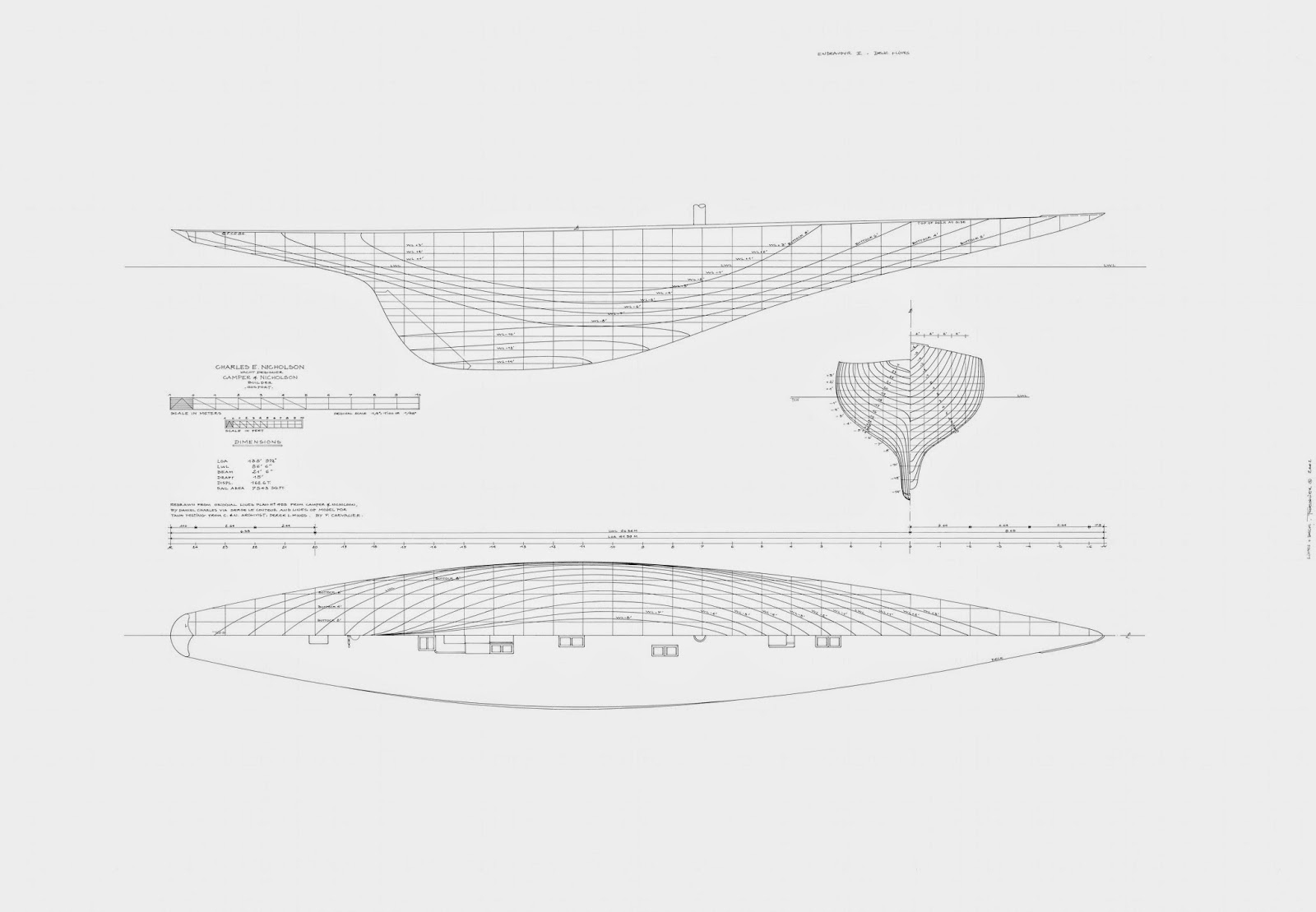 Art Line Yacht Design : Chevalier taglang what direction for the next america s cup