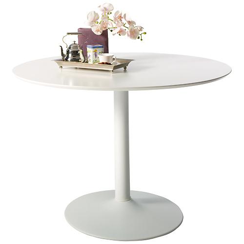 Mesas de comedor asequibles para espacios reducidos - Mesa redonda comedor el corte ingles ...