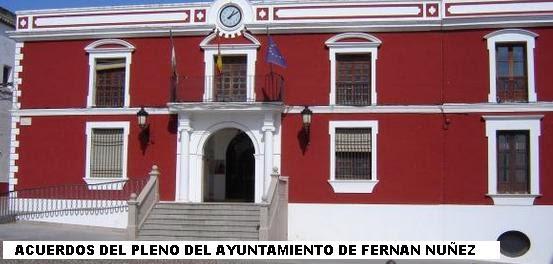 PLENOS DEL AYUNTAMIENTO