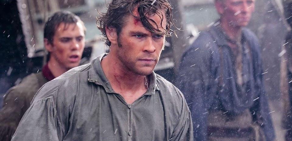 Chris Hemsworth enfrenta a maior criatura dos mares no segundo trailer de O Coração do Mar