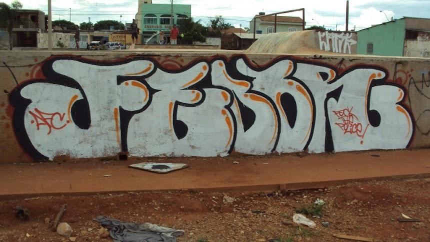 LETRAS AFC FEDOR GRAFFITI