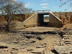 Riacho em período de seca