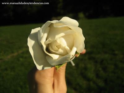 Rosa arte floral kirei