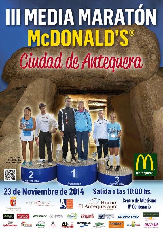 III Media Maratón McDonald´s Ciudad de Antequera