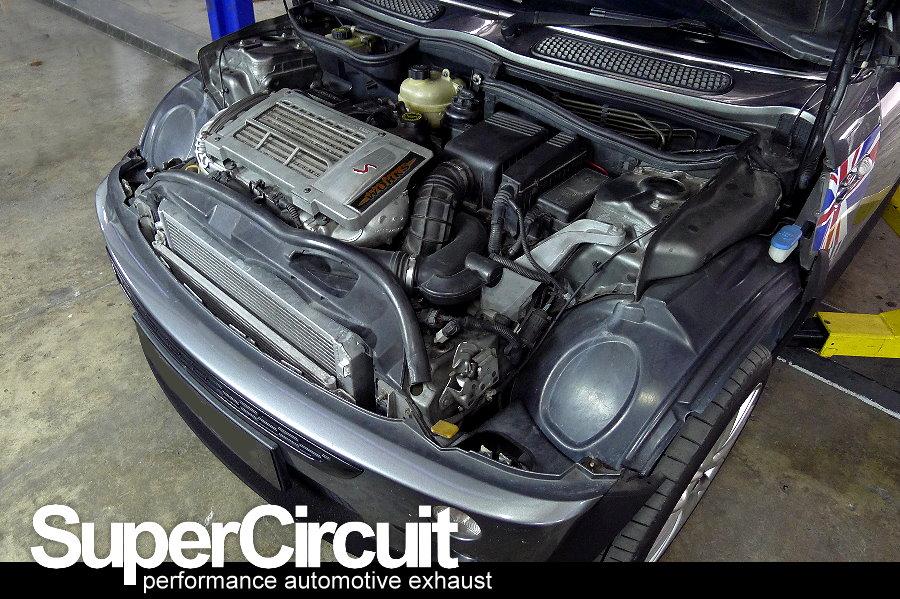 supercircuit exhaust pro shop mini cooper s r53 extractor. Black Bedroom Furniture Sets. Home Design Ideas