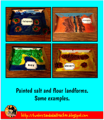 salt and flour landforms