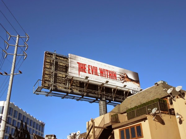 The Evil Within billboard