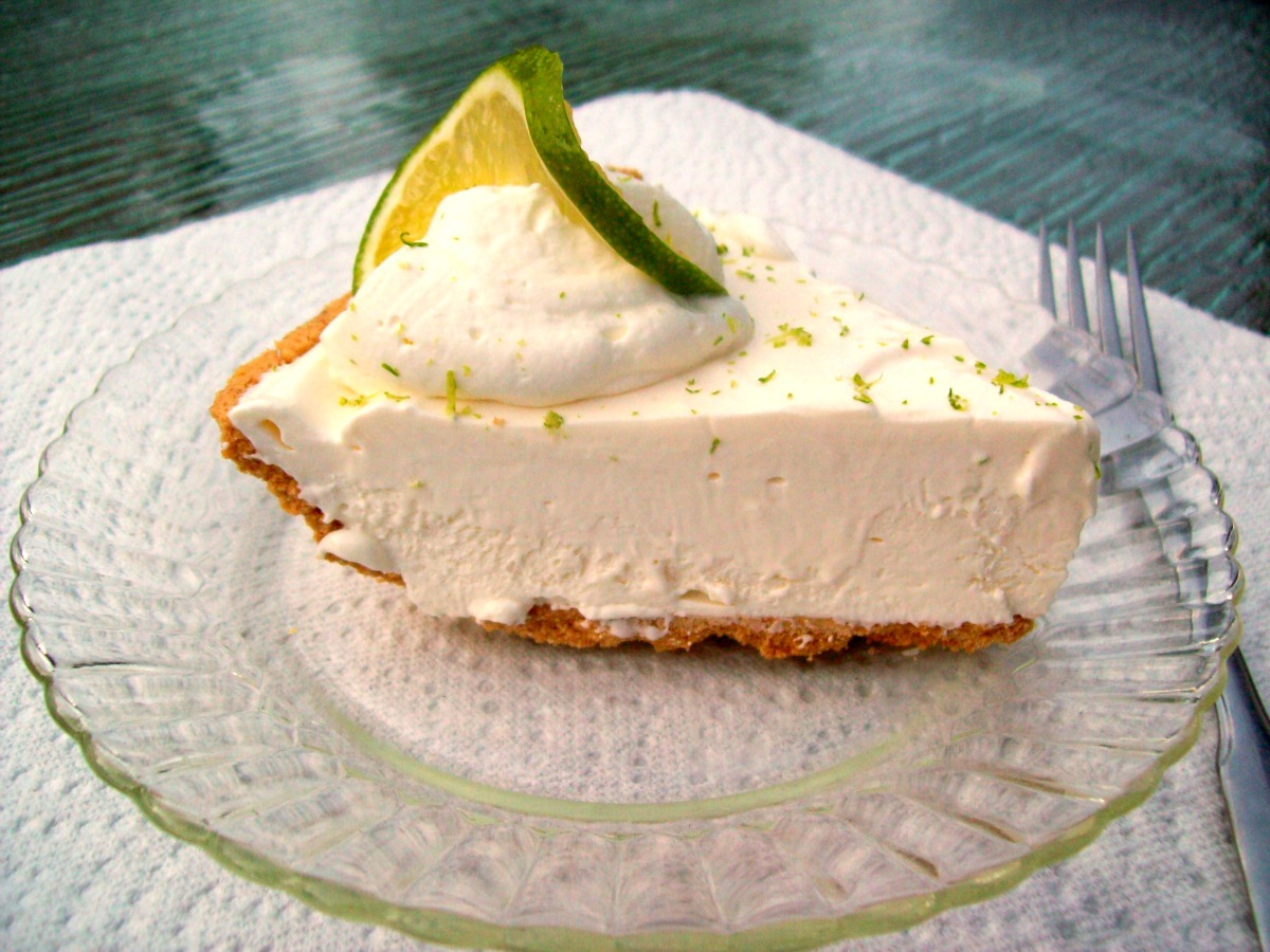 Frozen Key Lime Pie Recipe — Dishmaps