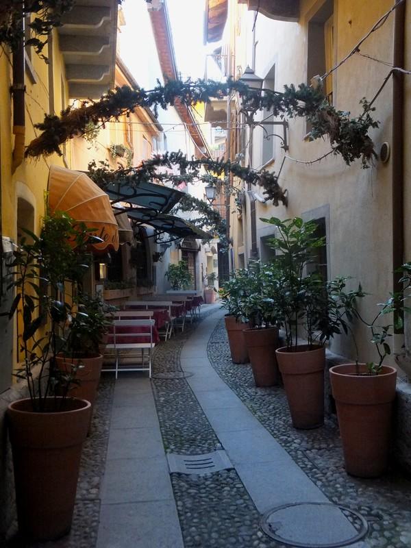 Aoste Aosta Italie restaurant trattoria degli artisti via maillet