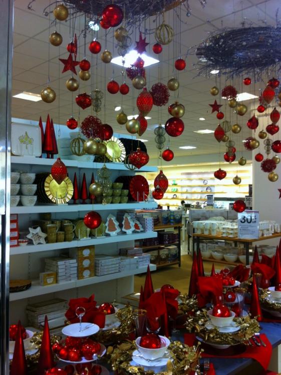 Christmas Decorations Myer : Stylish settings myer christmas table