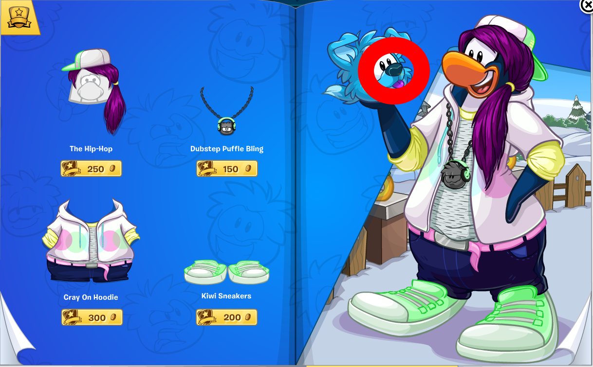 Club Penguin Penguin Style Catalog Cheats