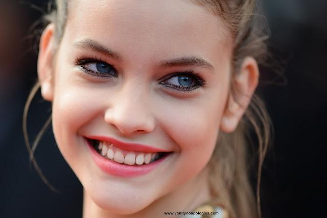 Barbara Palvin Cannes fresh makeup