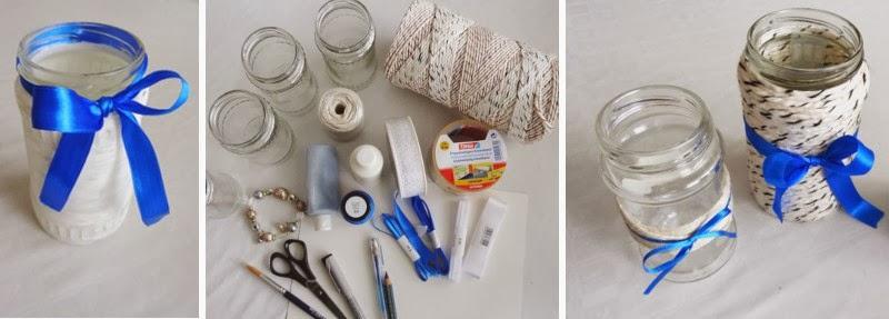steffi 39 s hochzeitsblog vasen basteln an einem grauen. Black Bedroom Furniture Sets. Home Design Ideas