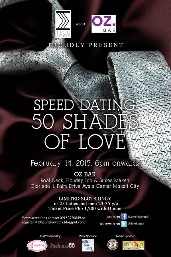 Speed dating events manila 2015