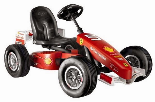 BERG Ferrari 150 Italia Pedal Go-Kart
