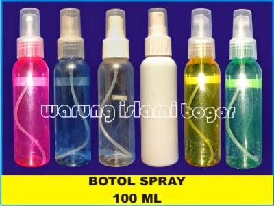 Jual Aneka Kemasan Botol Spray 100ml