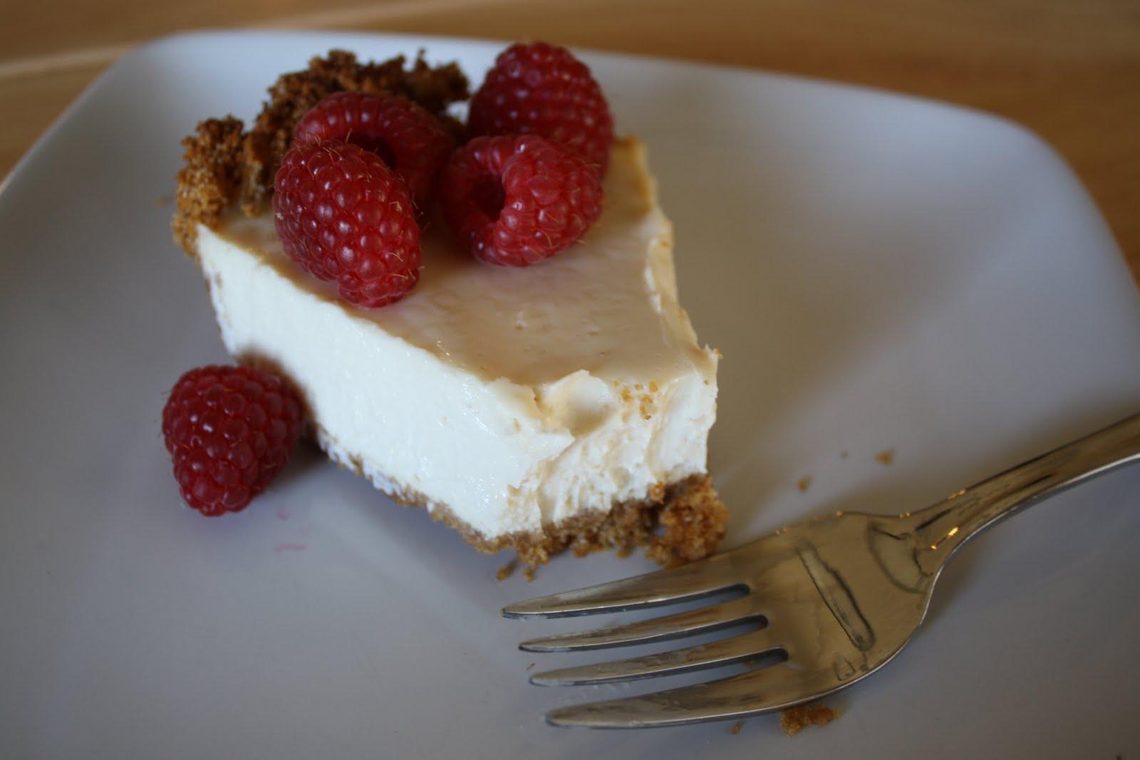 "Lactose-Free Girl: ""Better Than Cheesecake"" - Baked Vegan Cheesecake"
