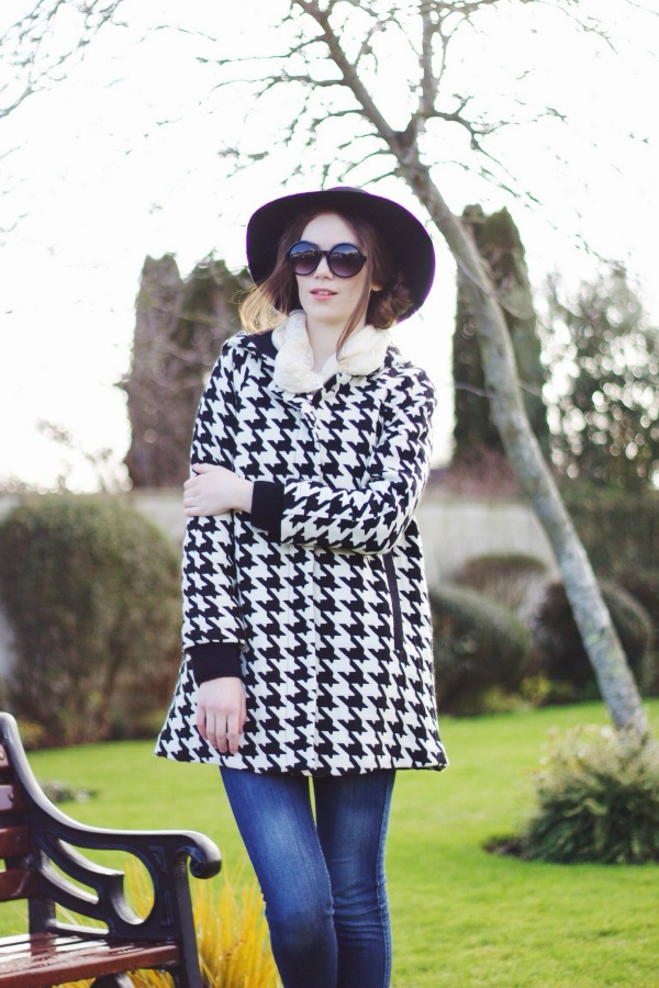 Houndstooth outfit