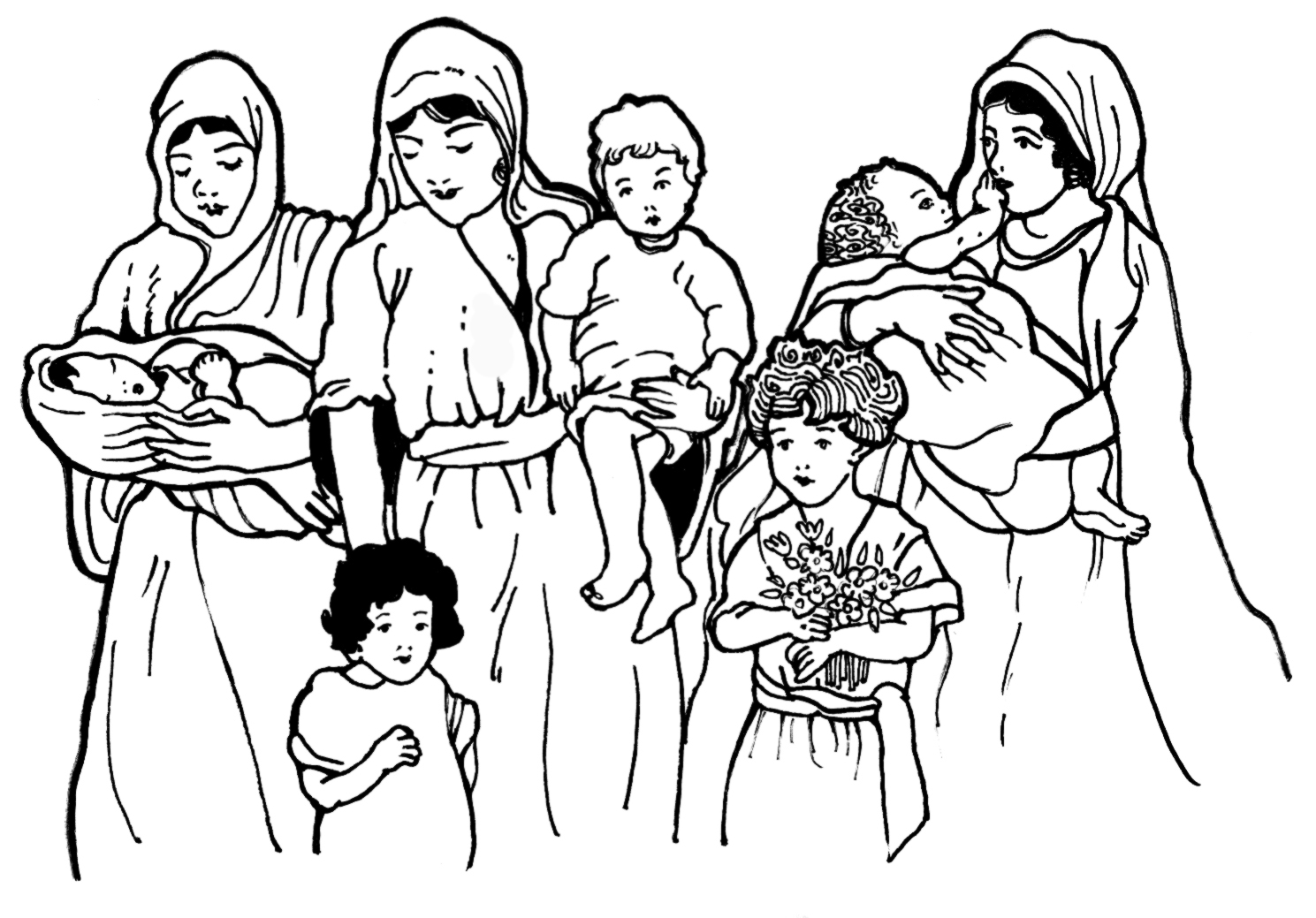 Mothers and Children From the Bible