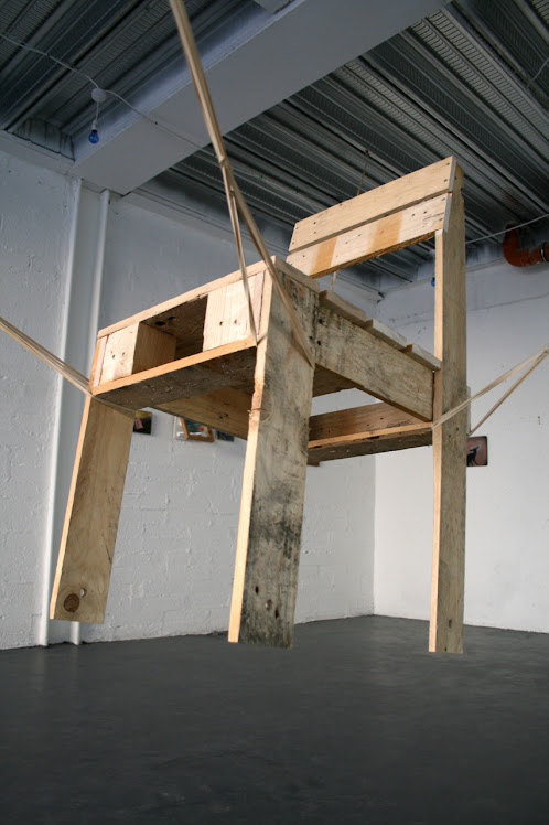 one chair, Occupy Space Gallery, 2010