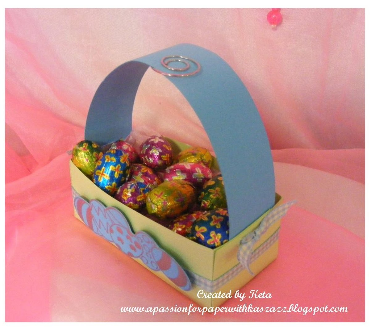 A passion for paper with kaszazz easter basket card 2 easter basket card 2 negle Images