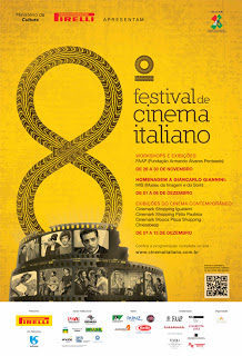 8º Festival Pirelli de Cinema Italiano no Brasil