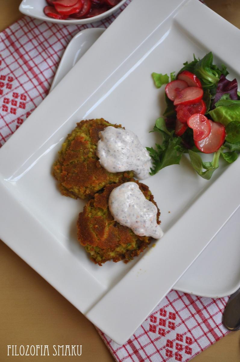 Arabskie Smaki Falafel Salatka Z Kaszy Bulgur Marynowana