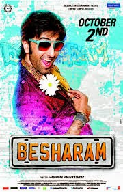 "Download Latest Bollywood Film - Hindi Movie - "" Besharam ""  Besharam is a 2013 Bollywood romantic action comedy film directed by Abhinav Kashyap. The film features Ranbir Kapoor opposite Pallavi Sharda who marks her return to the celluloid  Actor - Ranbir Kapoor  Actress:- Pallavi Download Hindi Bollywood Movie - Besharam - of Ranbir Kapoor - Latest Bollywood Film Free Download"