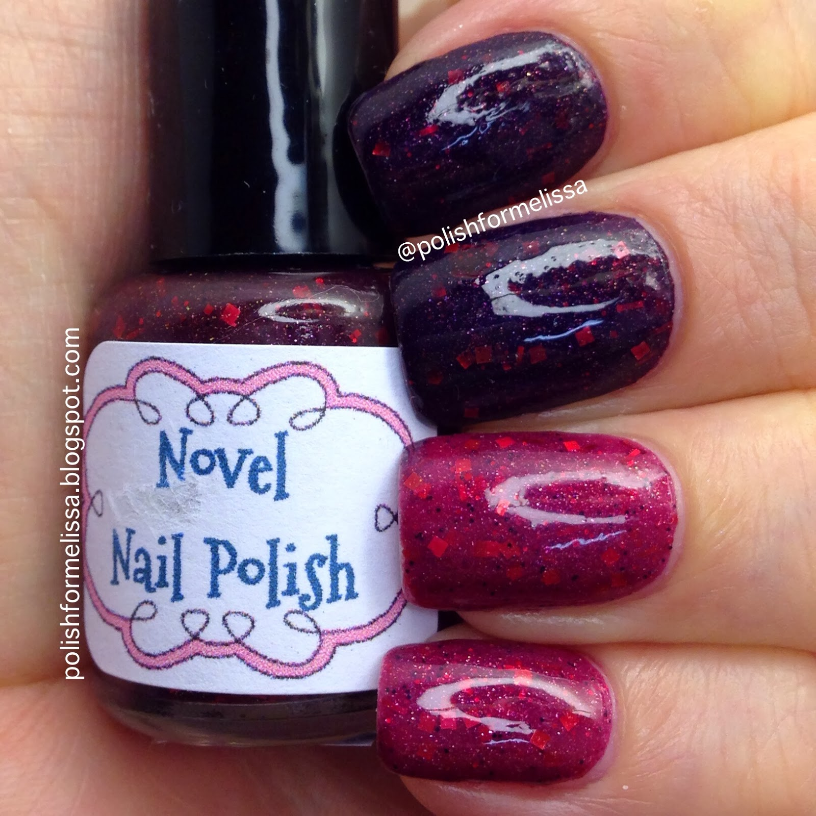 Polish For Melissa: Novel Nail Polish