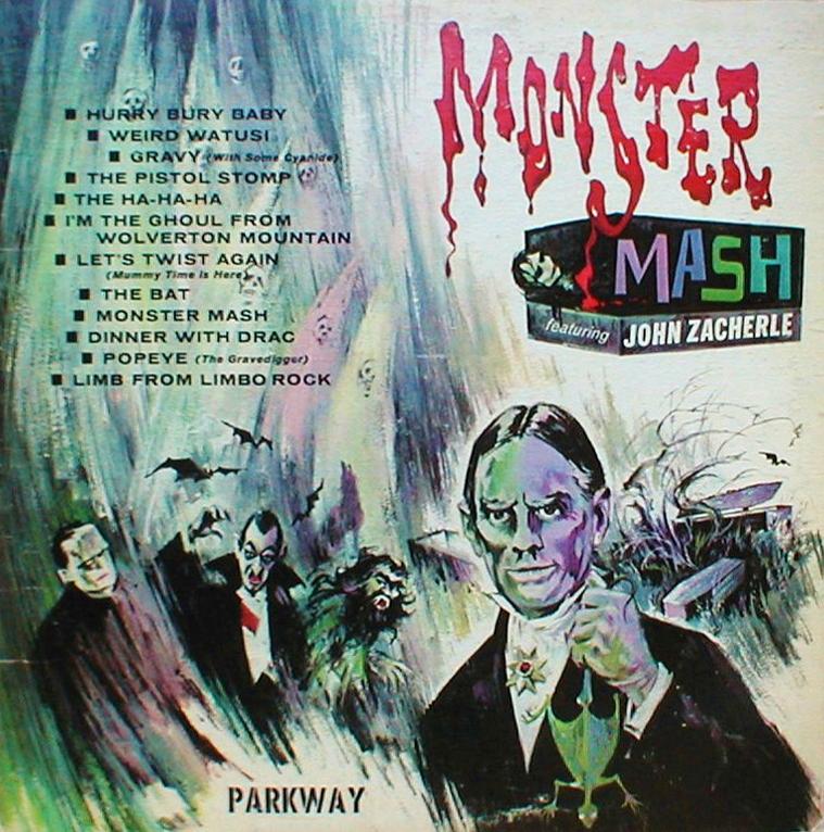 Бесплатное прослушивание альбома Monster Mash - John Zacherle. Monster Mas