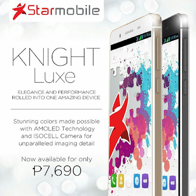 Starmobile Knight Luxe Specs, Price and Availability