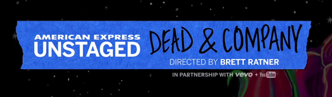 Dead & Company LIVE #NYC streaming video #AmexUNSTAGED Concert #GratefulDead #Gdead