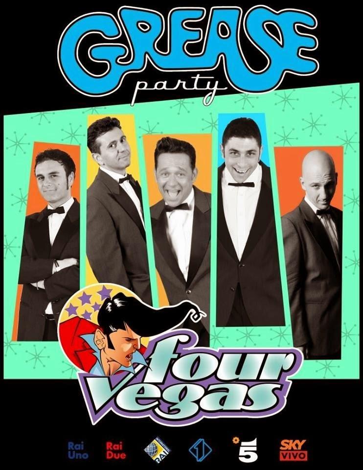GREASE PARTY con i FourVegas (tantissima musica anni 50 con anche Elvis)