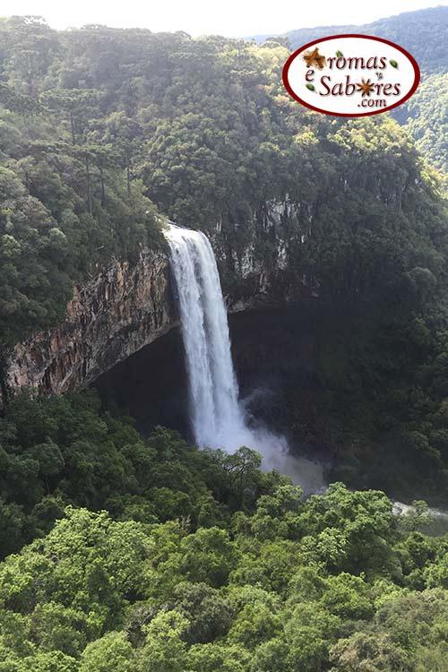 Canela - cachoeira do Caracol