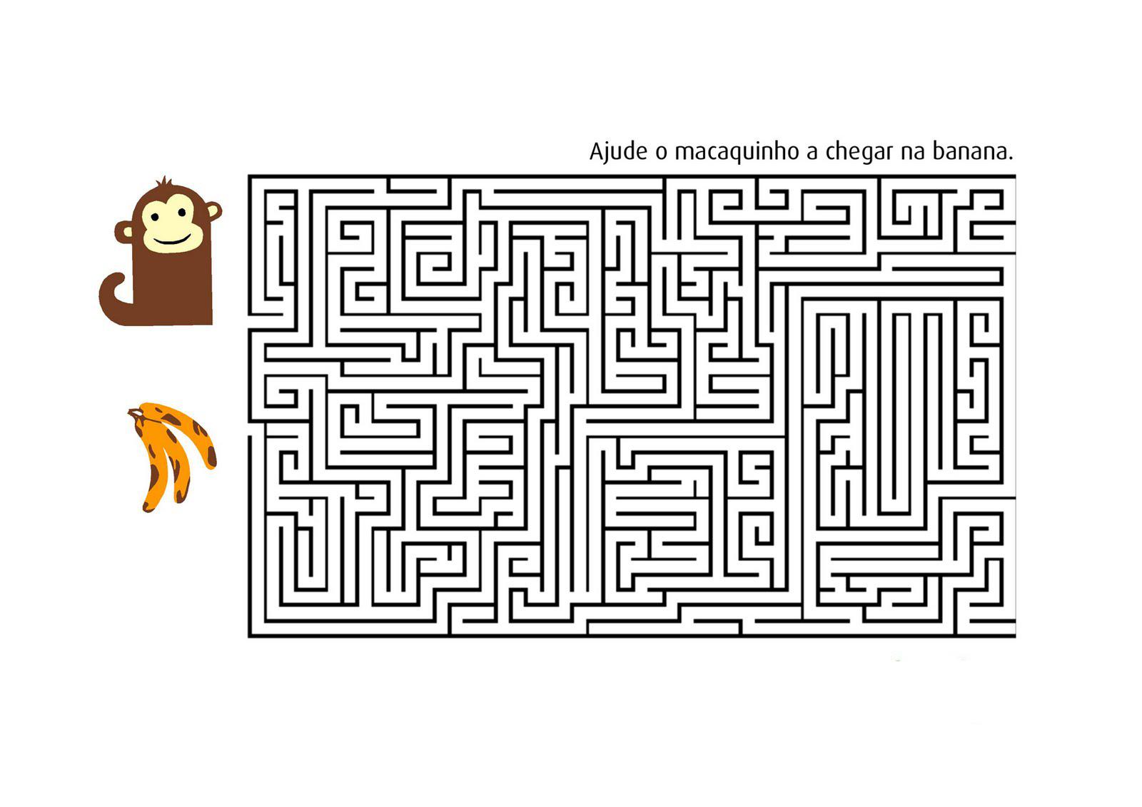 Desenhos Para Colorir labirintos de natal e outros