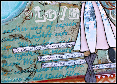 Canvas featuring Anchors Aweigh Collection by Quick Quotes in she art style designed by Rhonda Van Ginkel