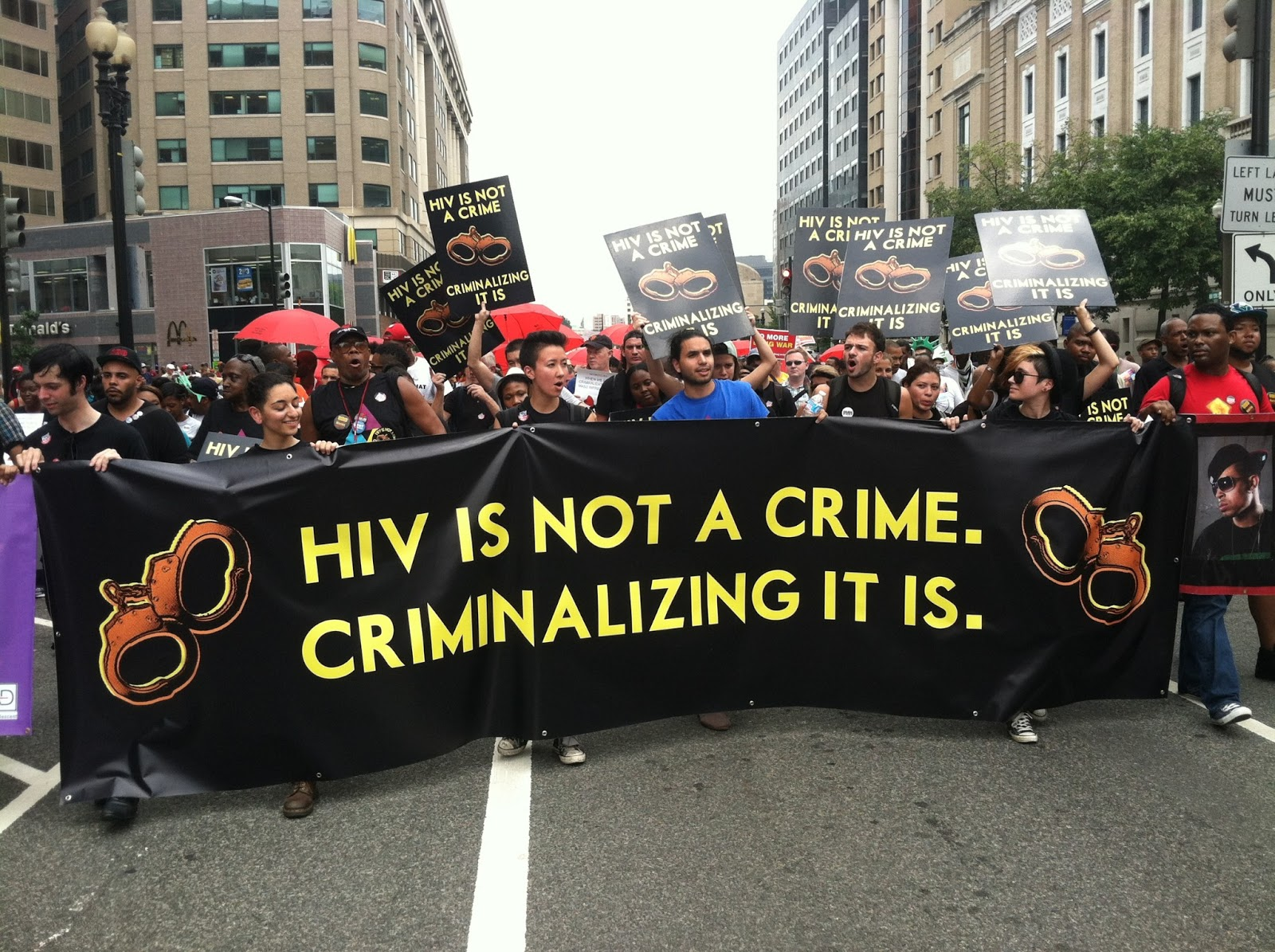 AIDS activism lives on: Queerocracy at a march