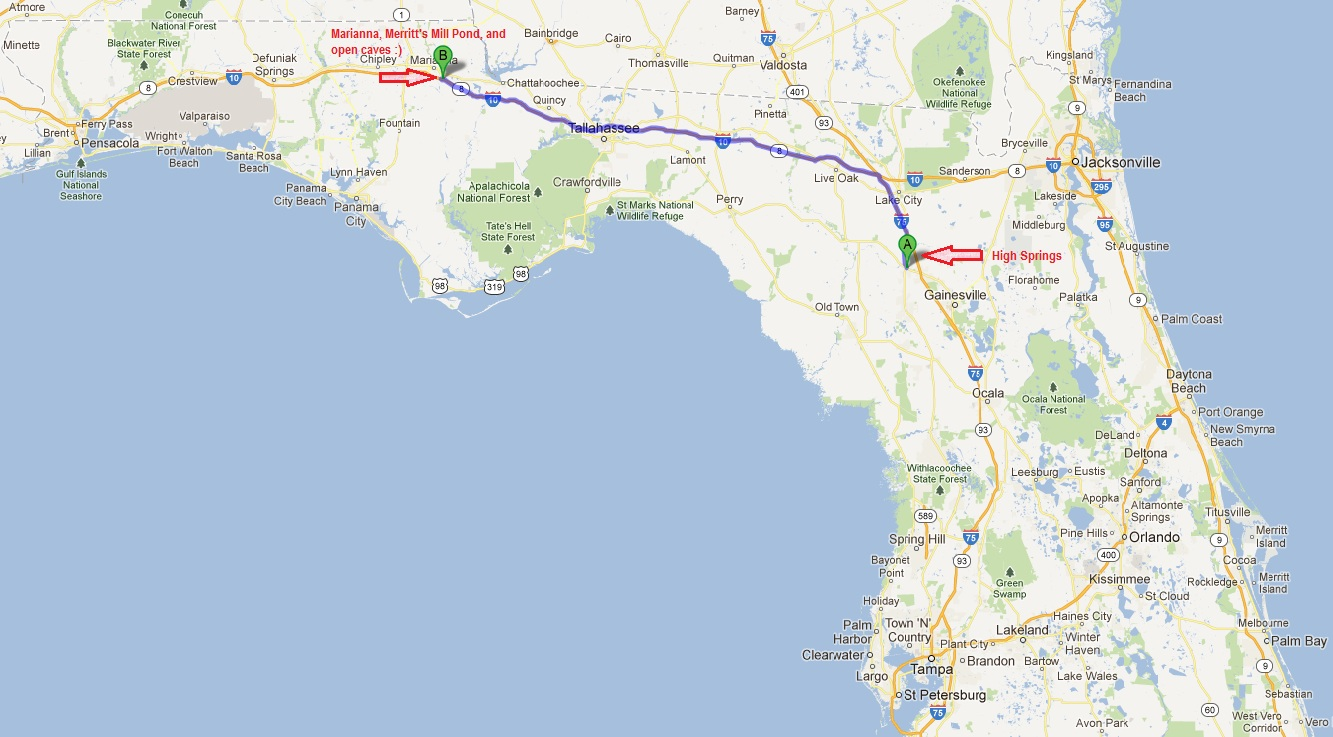 States Of Immersion A Florida Cave Diving Adventure Our - Flordia time zone