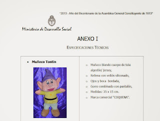 Imagen del Muñeco Tontín