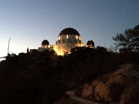 View north toward Griffith Observatory, Griffith Park