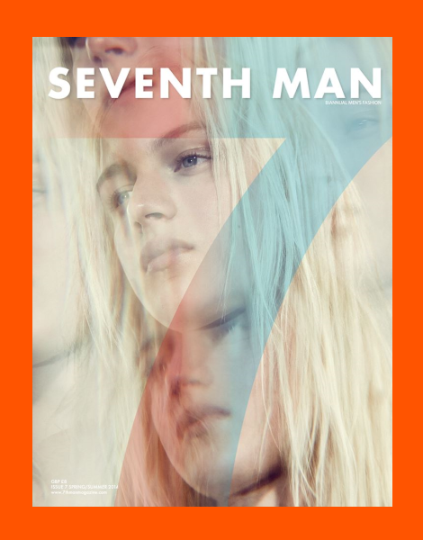 Dylan Fosket covers Seventh Man Magazine SS14