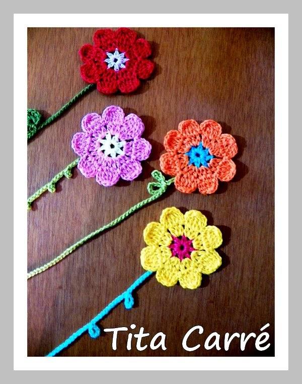 Flores que são marcadores de livros