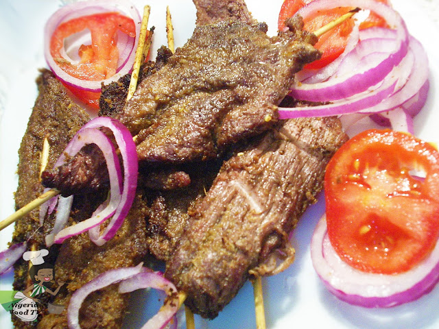 Nigerian Suya Recipe, Nigerian Suya, Suya Recipe, suya spice,nigerian food tv