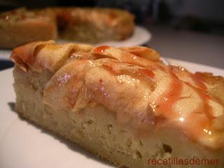 tarta de manzana. recetillas de mer