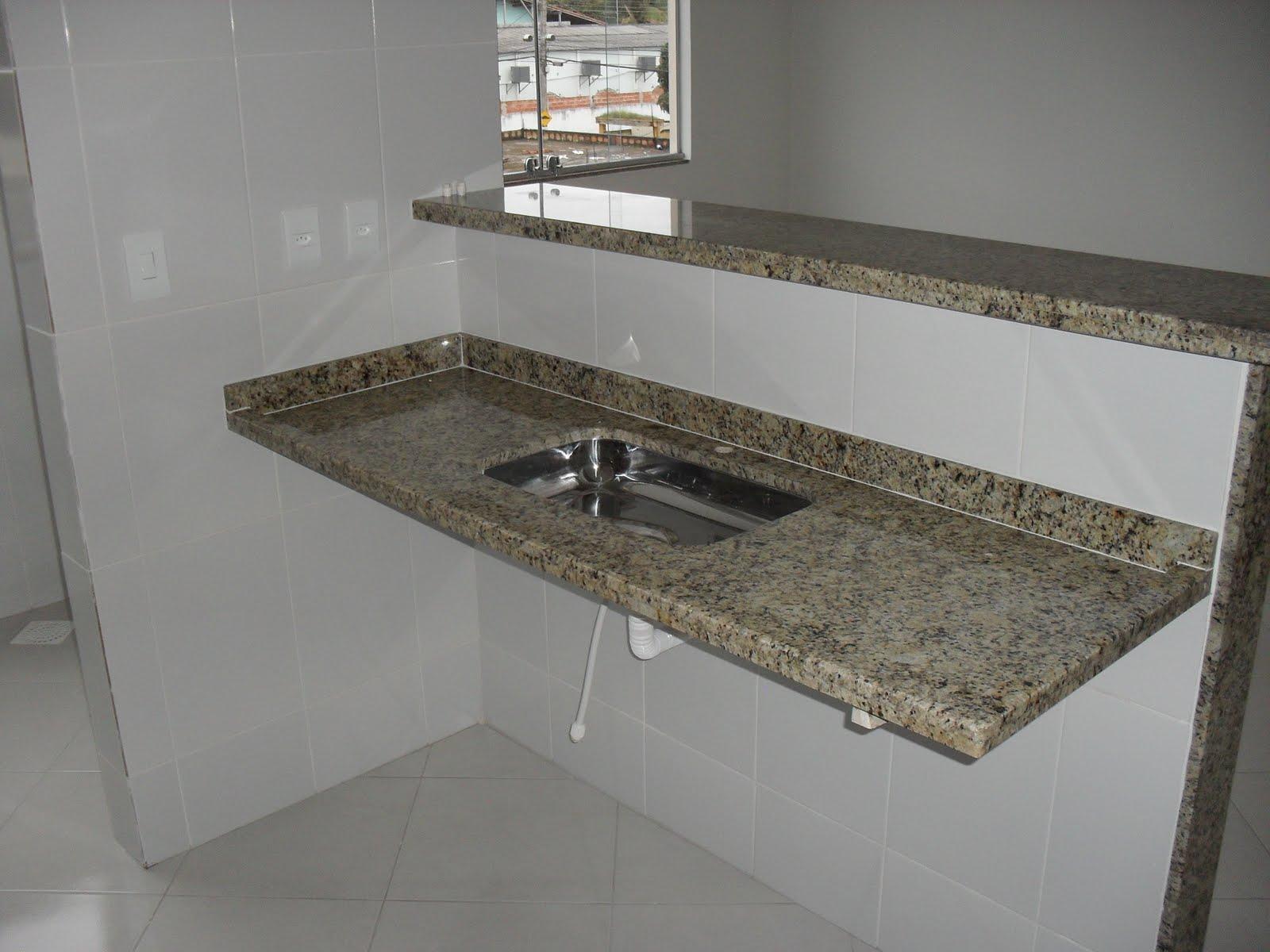 para Banheiro de Granito 71 8666 8999: Pias e Lavatórios de Granito  #7E614D 1600 1200