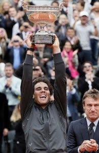 Rafa Nadal campeón de Roland Garros por septima vez en su carrera