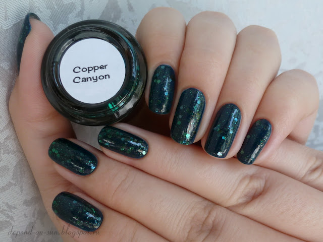 Smitten polish Copper canyon